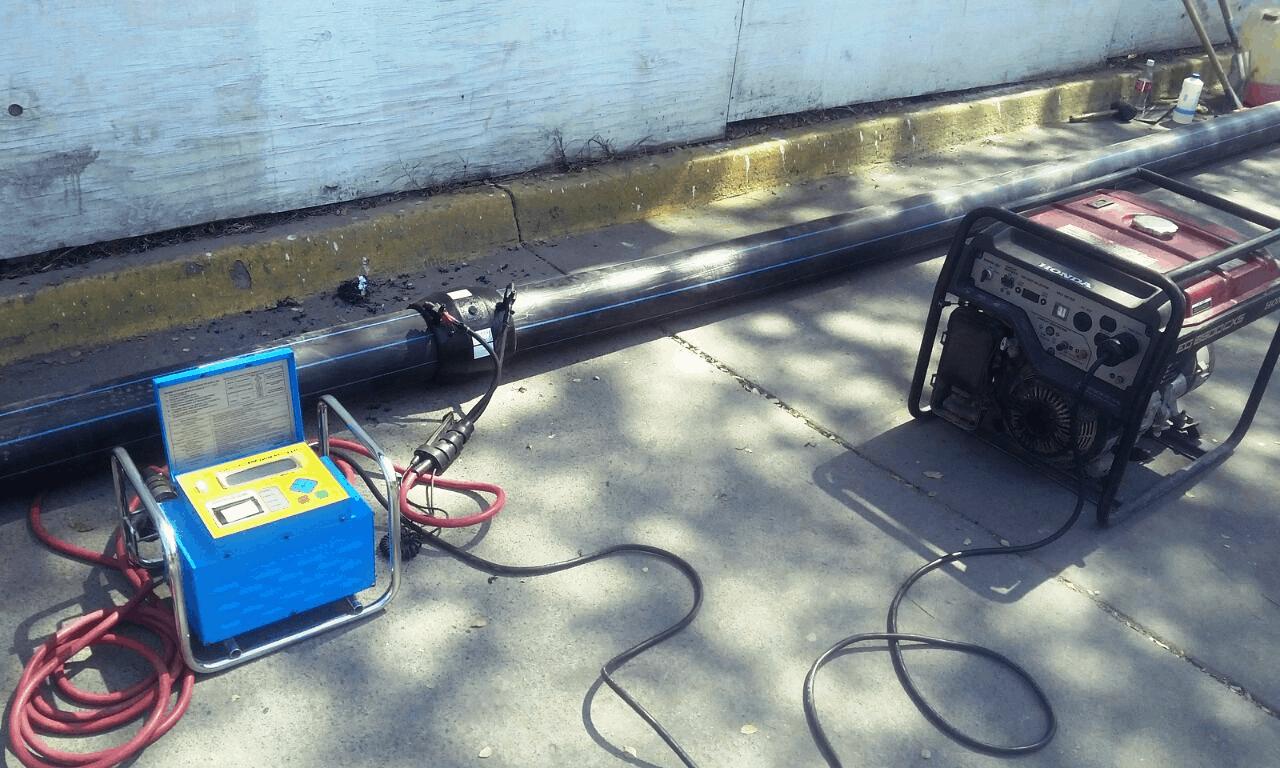 electrofusion tuberia de agua